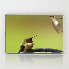 Two Hummingbirds Laptop & iPad Skin