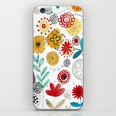 flowers_2 iPhone & iPod Skin
