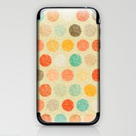 iPhone & iPod Skin featuring Vintage Dot by Sharon Turner