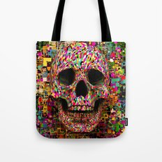 Pink Noise Tote Bag