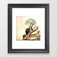 BeetleBack Life Framed Art Print