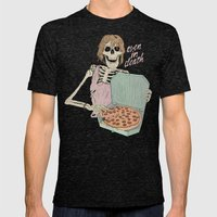 Even In Death Mens Fitted Tee Tri-Black SMALL