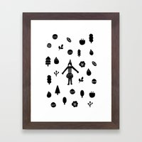 Little Forest  Framed Art Print