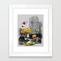 N Y C Framed Art Print