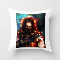 winter one Throw Pillow