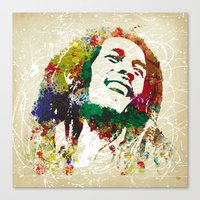 Reggae Music Man Canvas Print