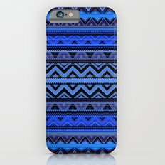 Mix #218 - Blue Aztec iPhone 6s Slim Case