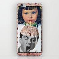 Reptilian Snack iPhone & iPod Skin