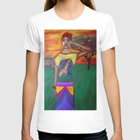 africa T-shirts featuring Africa by Ksuhappy