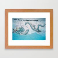 The Store With Beautiful… Framed Art Print