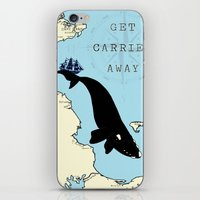 Get Carried Away iPhone & iPod Skin