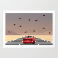 Bat Country. Art Print