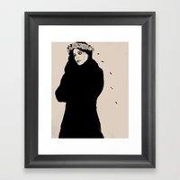 SPANISH SAHARA Framed Art Print