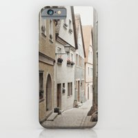 iPhone & iPod Case featuring Italian Alley - Muted Tones by angela haugland