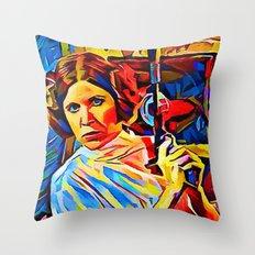 Leia Throw Pillow