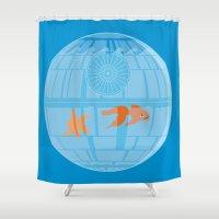 Empire Fish Bowl Shower Curtain