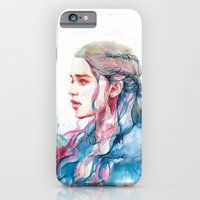 iPhone Cases featuring Dragonqueen by Alice X. Zhang