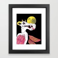 Retrospect Framed Art Print