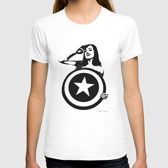 Captain Girl America T-shirt