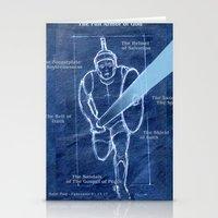 Full Armor of God - Warrior 2 Stationery Cards