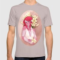 Tasmit & Lilies Mens Fitted Tee Cinder SMALL