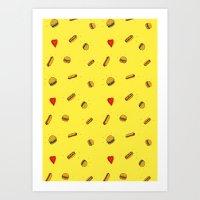 Fast Food Friday Art Print