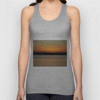 Sunset Reflections Unisex Tank Top