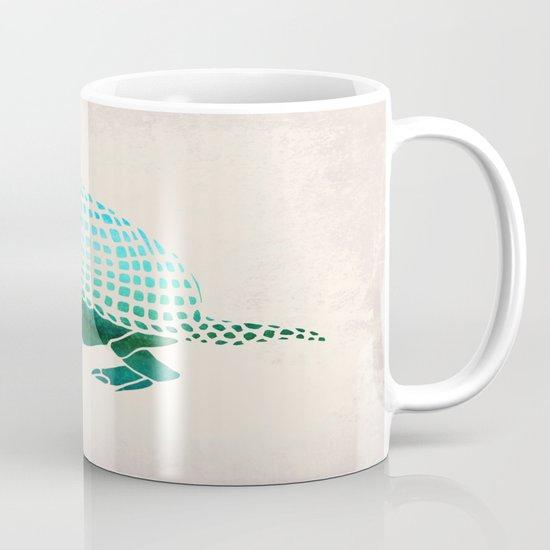 Watercolor Armadillo Mug