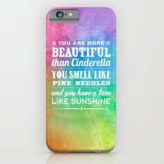 Sunshine Face iPhone 6 Slim Case