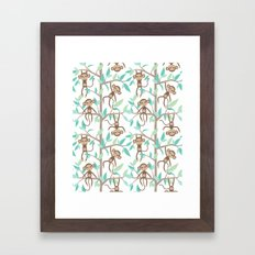 Monkey Jungle Framed Art Print