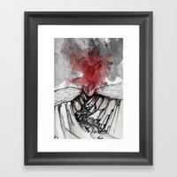 Valley Of Death Framed Art Print