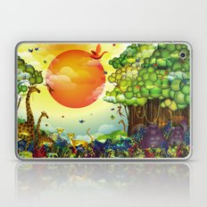 Jungle of colors Laptop & iPad Skin