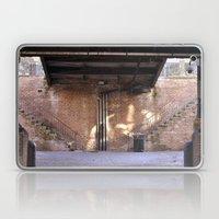 River Front Steps Laptop & iPad Skin
