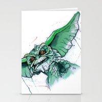 Gremlin Stationery Cards