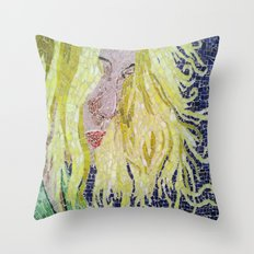 Blonde Throw Pillow