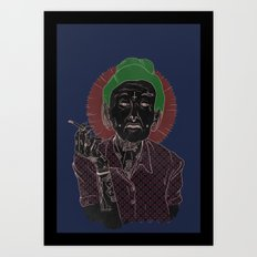 grandmother Art Print