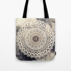 Autumn Boho Mandala Tote Bag