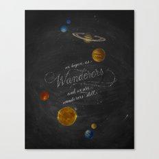 Wanderers - Carl Sagan Canvas Print