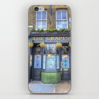 The Grapes Pub London iPhone & iPod Skin
