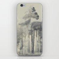 Like a Horse in the woods iPhone & iPod Skin