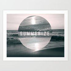 Summer Eyes Art Print