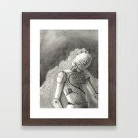Echo of Sorrow Framed Art Print