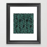 Up/Down (mint) Framed Art Print