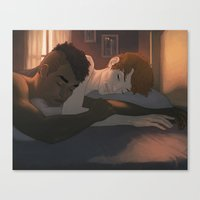 Too Early Yet Canvas Print