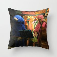 Times Square Station Throw Pillow