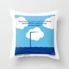 No234 My Truman Show Min… Throw Pillow