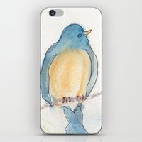 Birds and Bees iPhone & iPod Skin