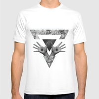 Hº Mens Fitted Tee White SMALL