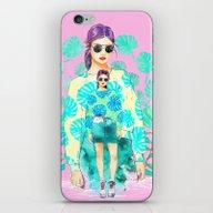 iPhone & iPod Skin featuring Monstera Deliciosa by Sara Eshak
