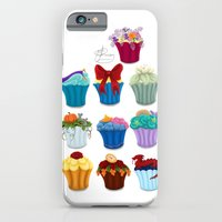 iPhone & iPod Case featuring The Princess Cupcake Collection  by Tella